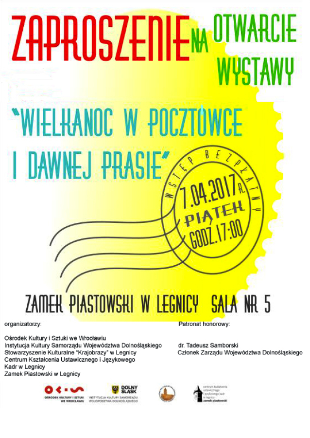 Legnica: Zaproszenie na wernisaż
