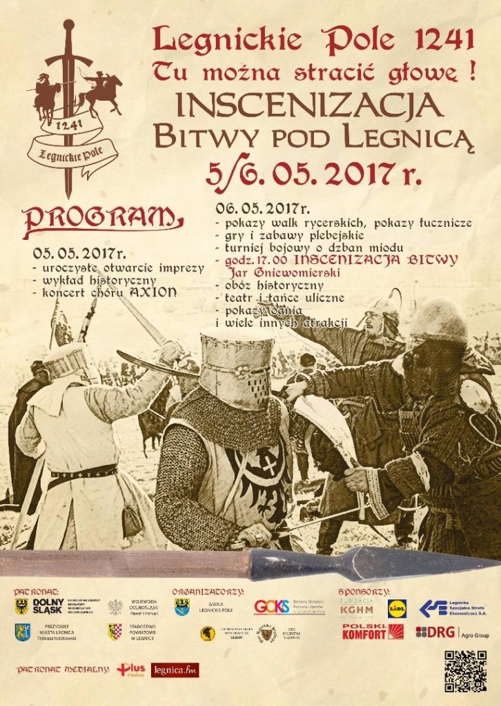 Legnickie Pole: Inscenizacja Bitwy pod Legnicą