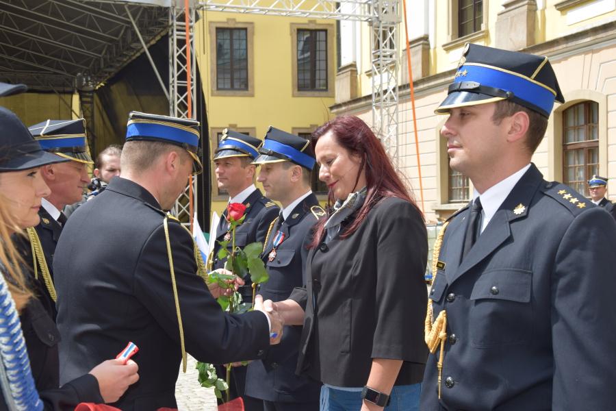 (FOTO) Obchody 25-lecia Państwowej Straży Pożarnej w Legnicy