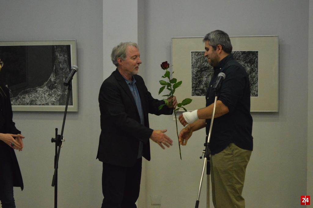 (FOTO) Otwarcie wystawy Adama Kopca