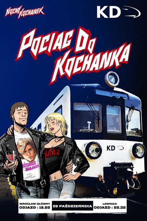 Nocny Kochanek zagra mini koncert… w pociągu!