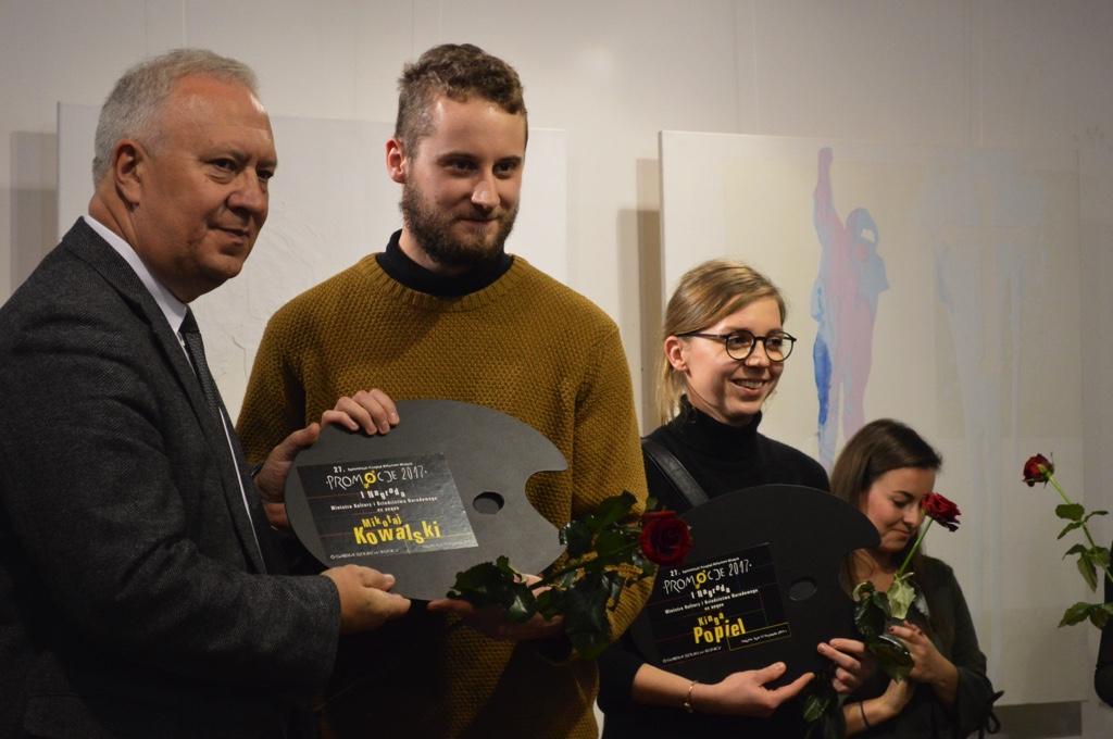 (FOTO) Poznaliśmy laureatów 27. Ogólnopolskiego Przeglądu Malarstwa Młodych PROMOCJE 2017