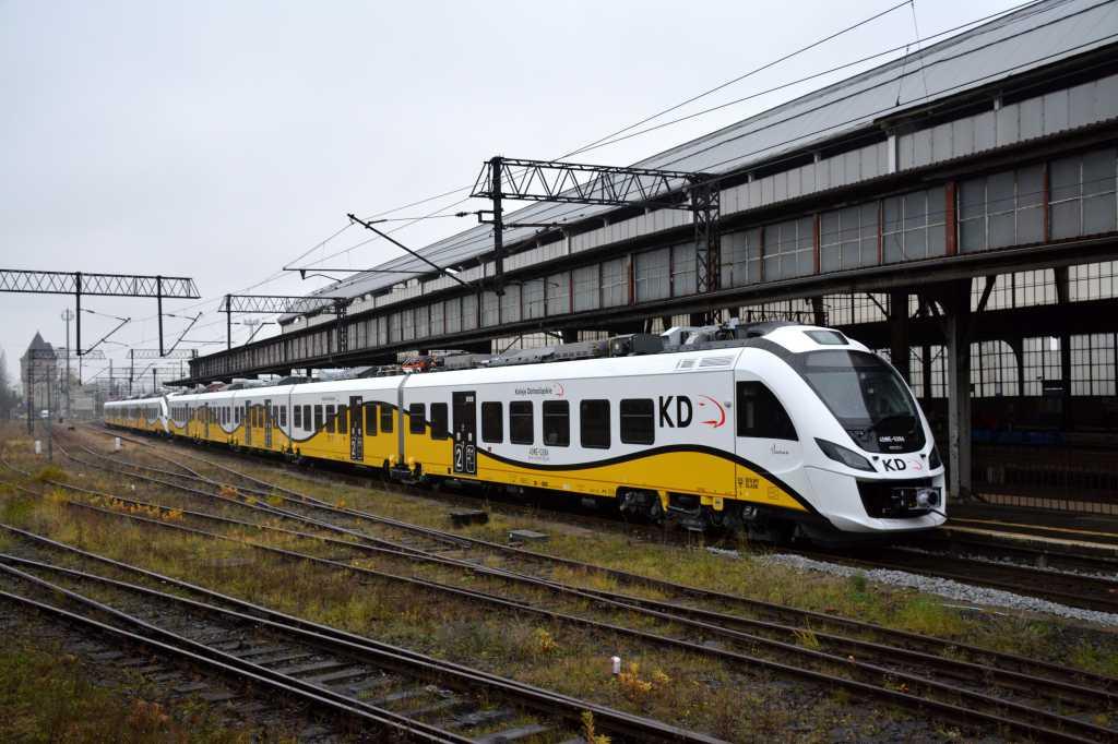 Wszystkie pięcioczłonowe pociągi Kolei Dolnośląskich już w Legnicy!