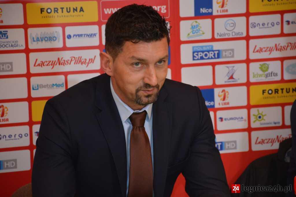 Dariusz Dudek: Miedź to jeden z poważniejszych kandydatów do awansu