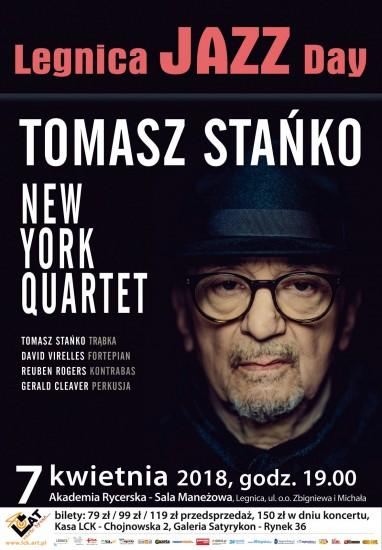 Tomasz Stańko & New York Quartet zagrają w Legnicy już w kwietniu!