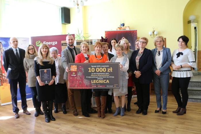 Legnica nagrodzona za iluminację świąteczną