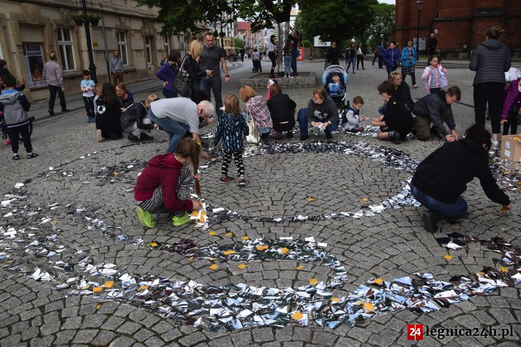 (FOTO) Legnicki Festiwal SREBRO: Srebrny ring w rynku