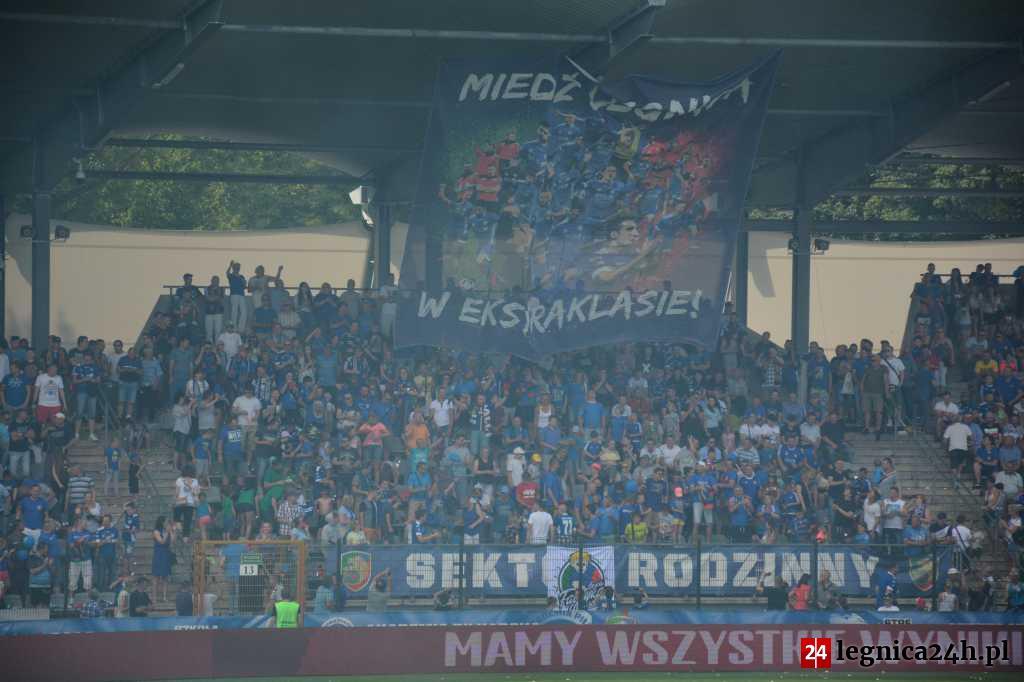 Rusza przedsprzedaż biletów na mecz Miedzi z Pogonią Szczecin