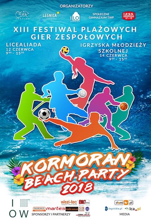 Kormoran Beach Party. Plaże czekają na młodych sportowców