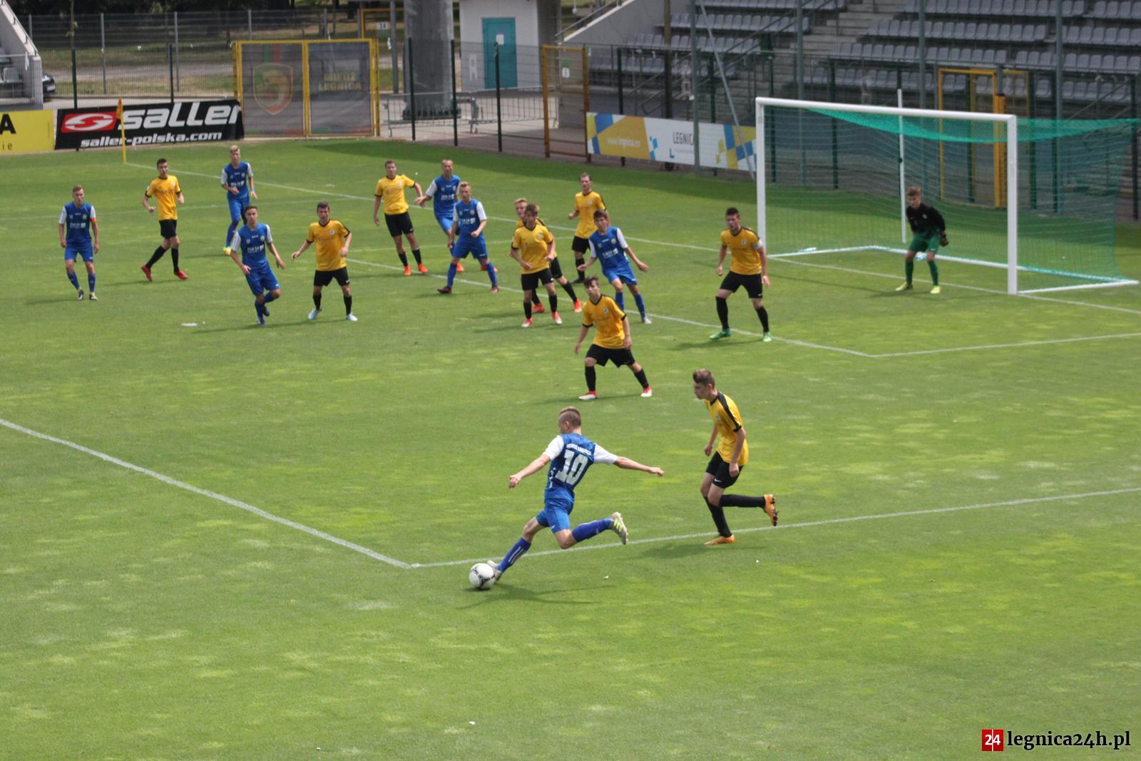 (FOTO) CLJ U17: Miedź przegrała z Falubazem Zielona Góra