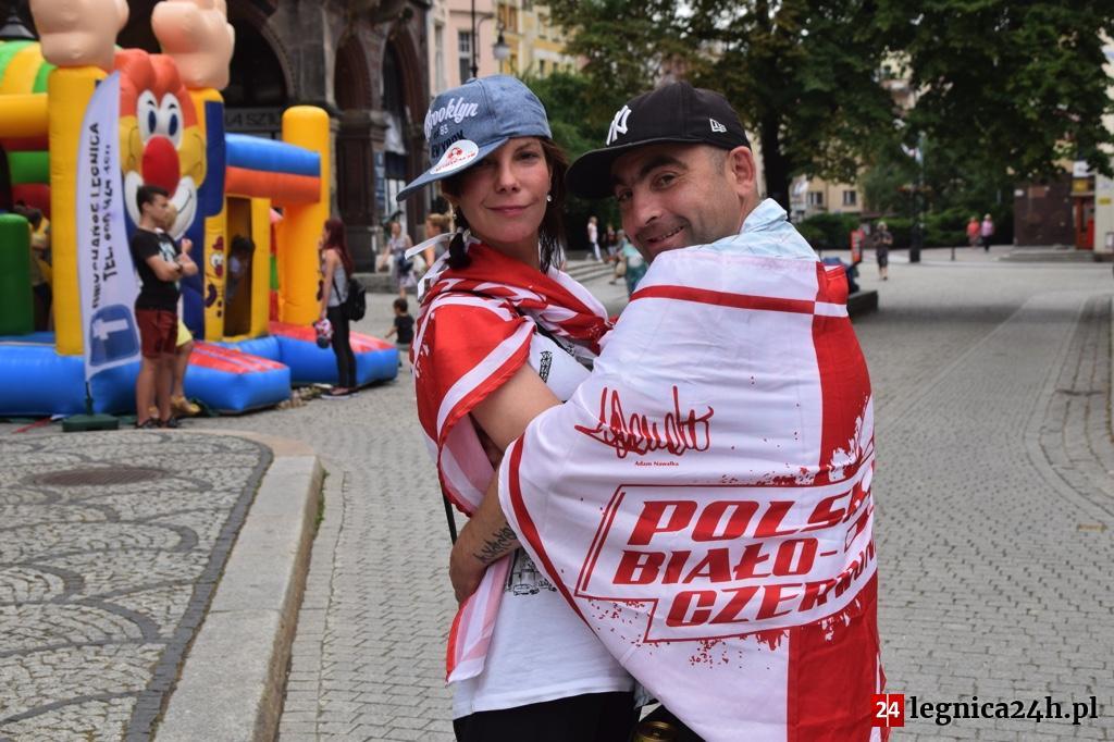 (FOTO) Legnica kibicuje!