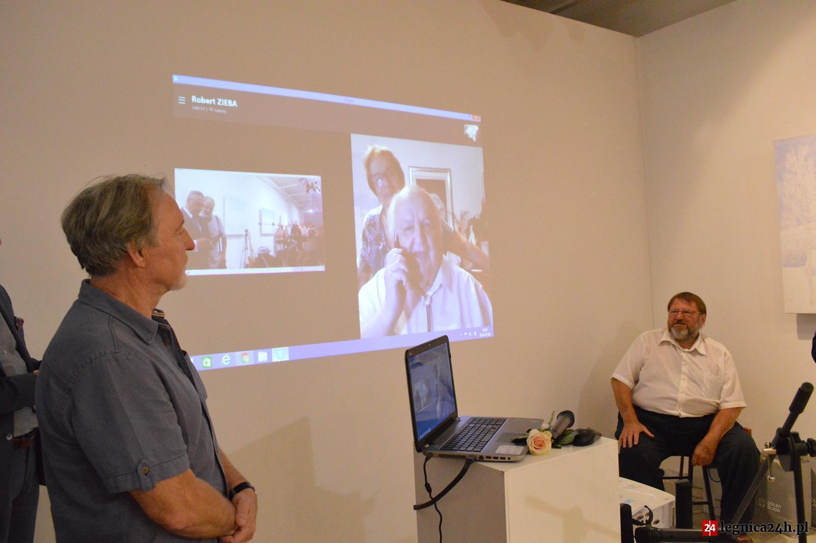 (FOTO) Wystawa malarstwa Roberta Zięby w Galerii Sztuki w Legnicy