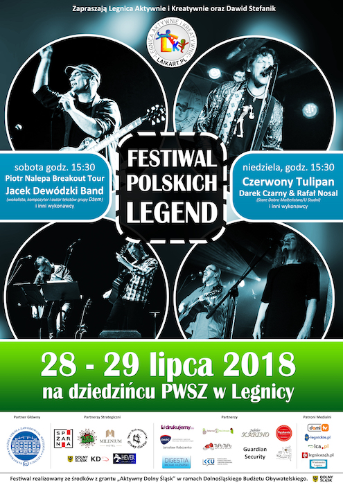Festiwal Polskich Legend w Legnicy