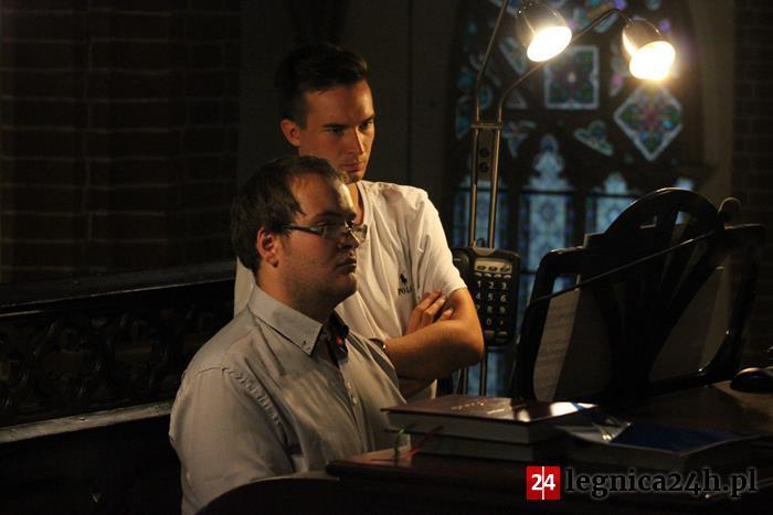 (FOTO) Koncert promocyjny w ramach 27. Legnickich Wieczorów Organowych