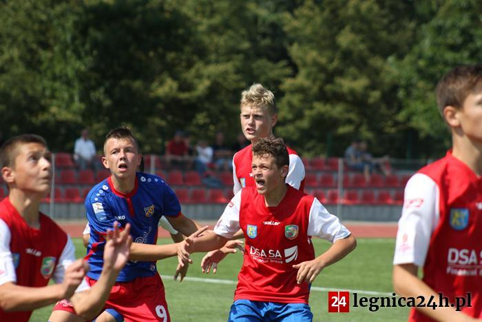 (FOTO) CLJ U15: Miedź lepsza od opolskiej Odry