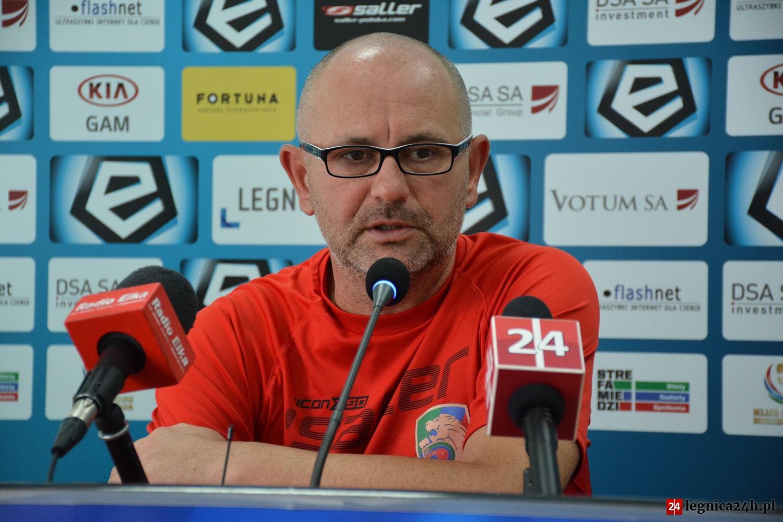 Dominik Nowak: Nie zakładamy porażki z Zagłębiem