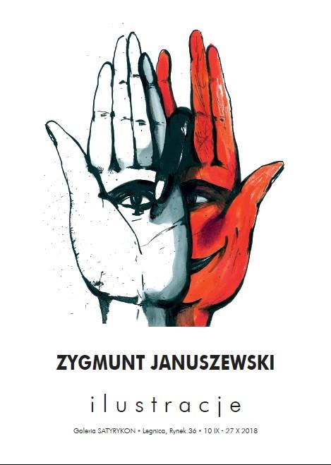 Ilustracje Zygmunta Januszewskiego w Galerii Satyrykon