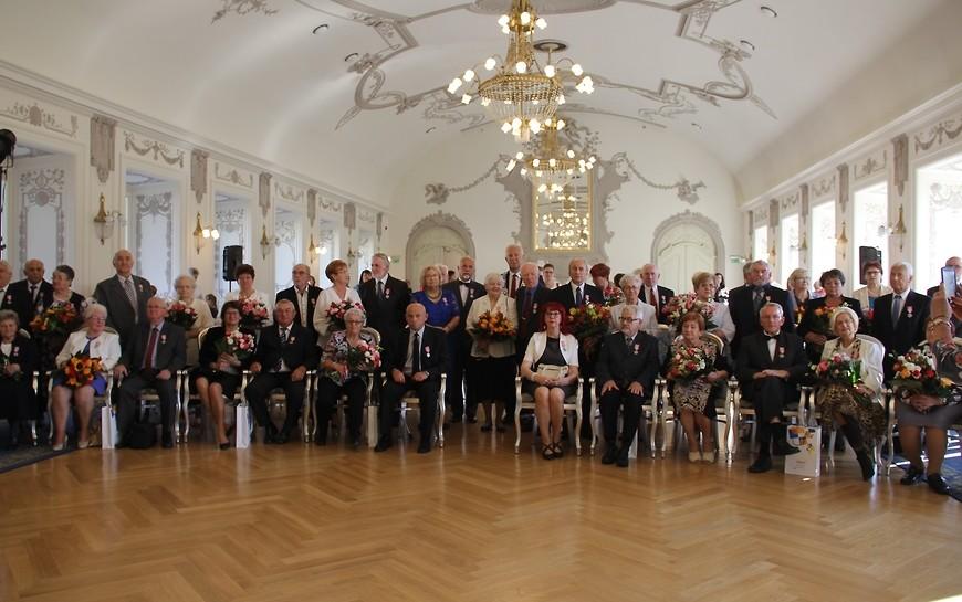 Kolejnych 20 legnickich małżeństw obchodziło Złote Gody