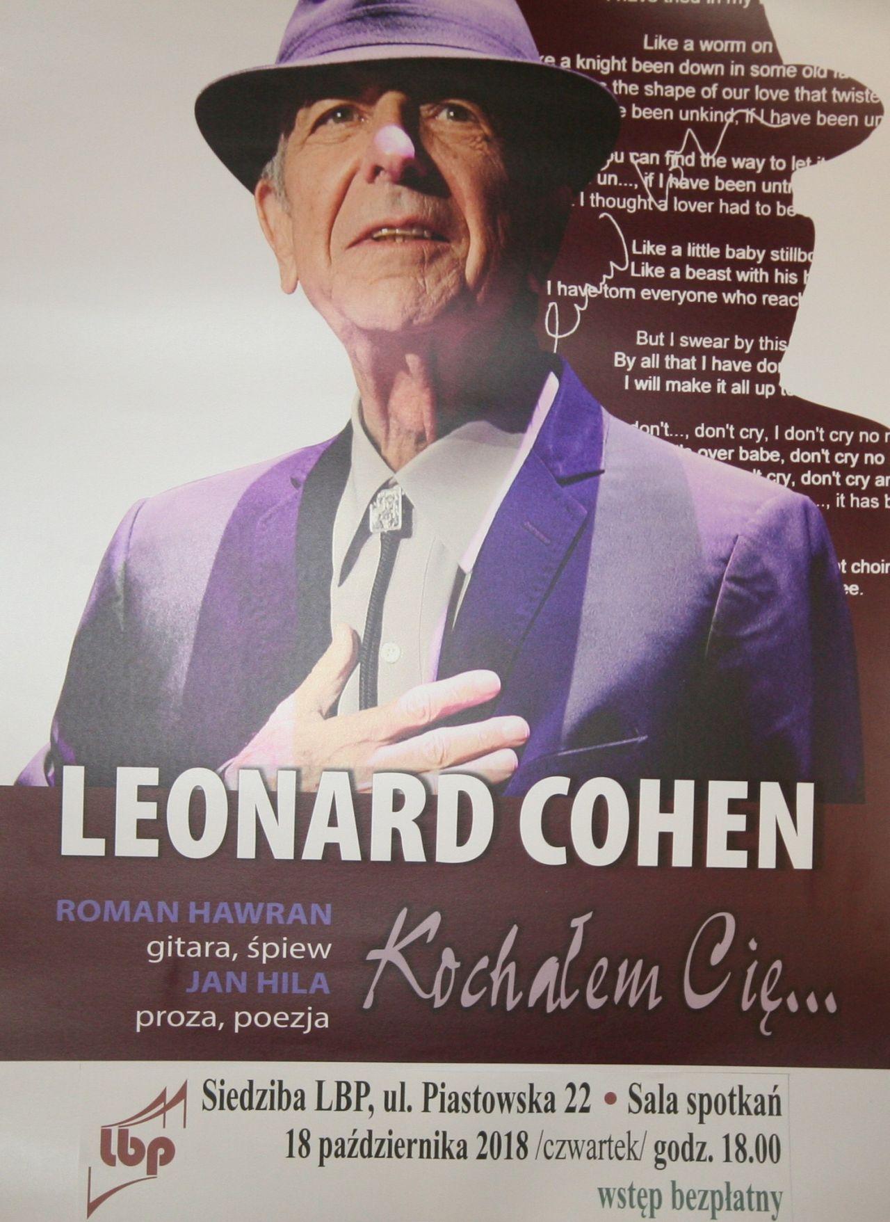 Wybierz się na wieczór z Cohenem i tajemnicami masonów