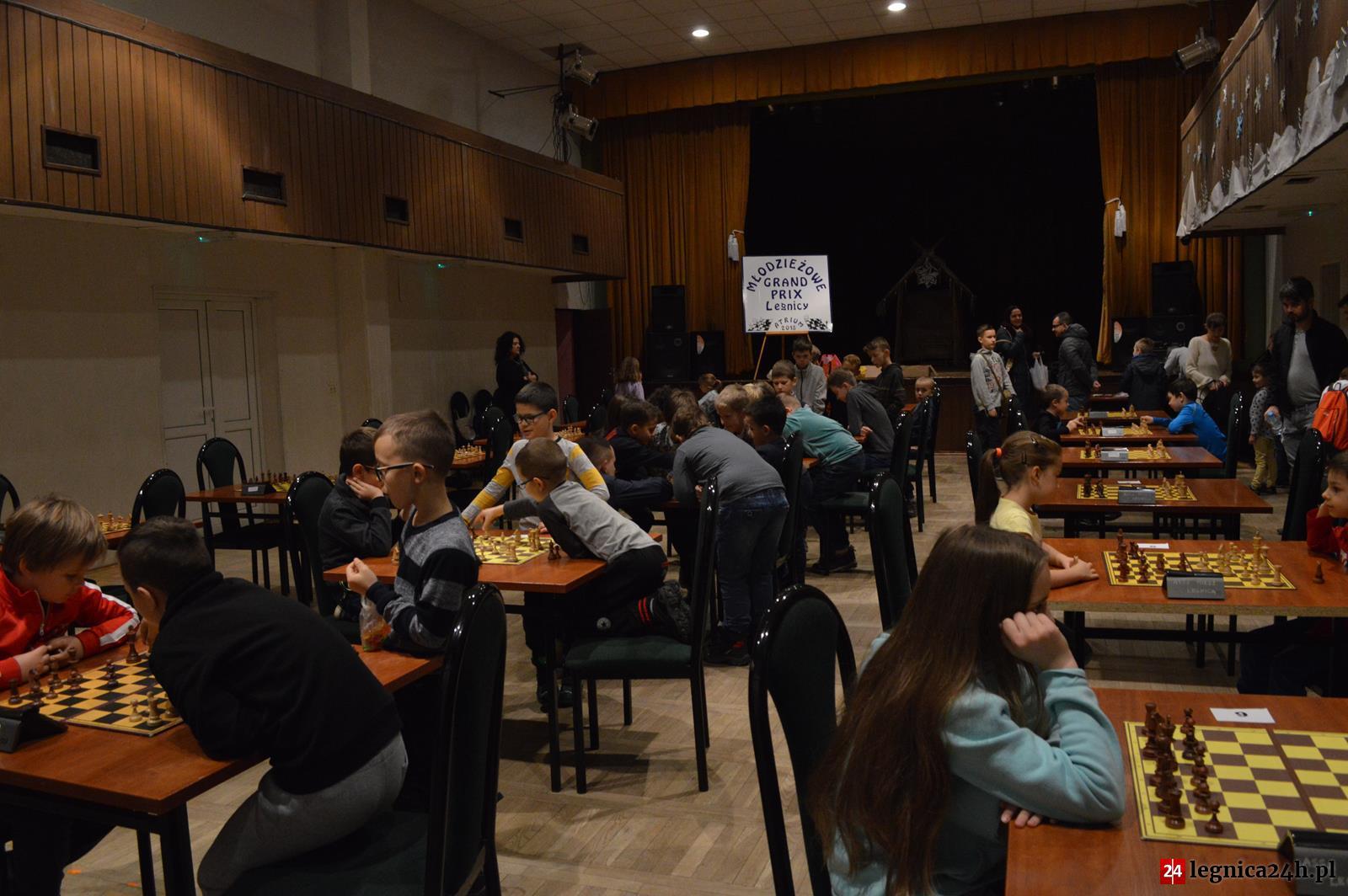 Legnica: Turniej szachowy dla dzieci i młodzieży