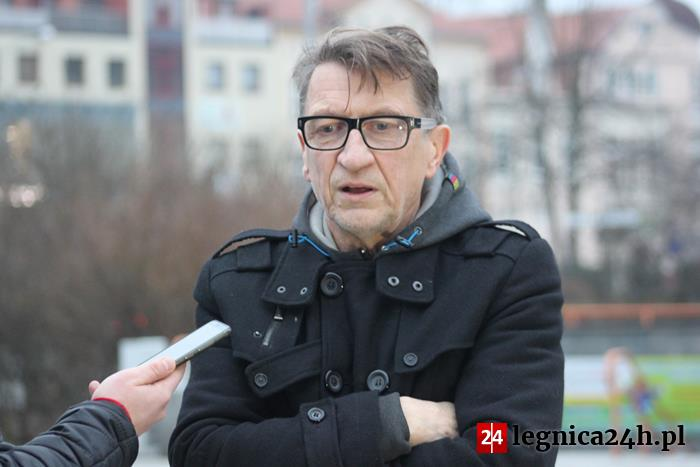 (FOTO) Happening Grzegorza Klamana