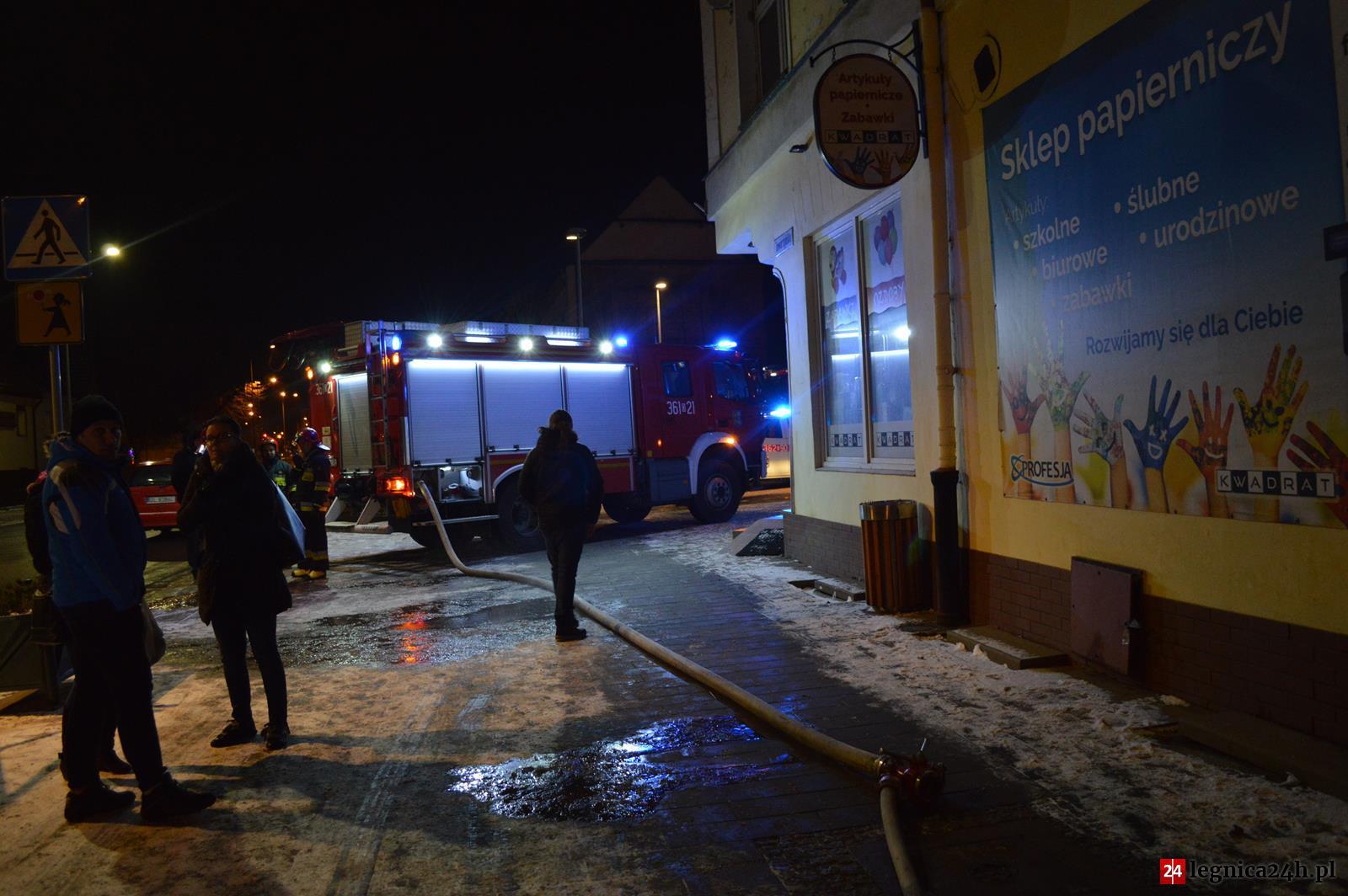 (FOTO) Pożar na ulicy Jaworzyńskiej
