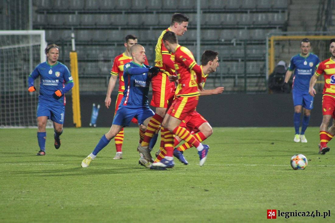 Tomislav Bożić w ostatnim meczu specjalnie kolegom nie pomógł...