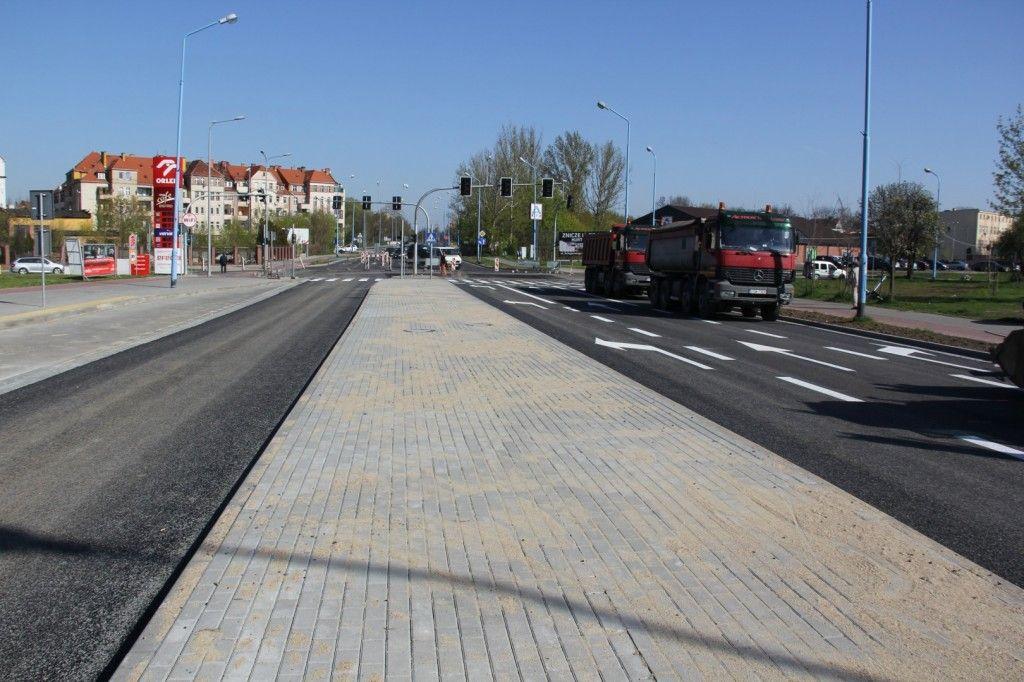 Dobiega końca przebudowa ul. Leszczyńskiej od wiaduktu kolejowego do Ścinawskiej