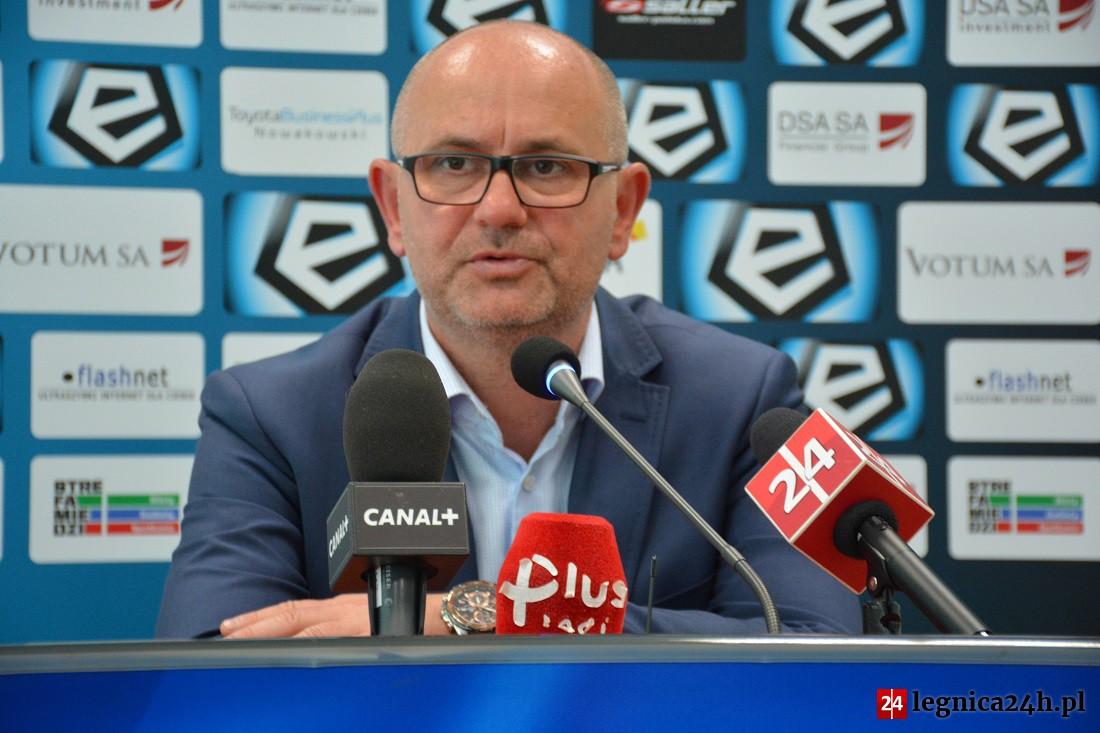 Dominik Nowak pozostanie trenerem Miedzi