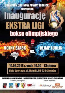 Inauguracja Ekstra Ligi Boksu Olimpijskiego w Chojnowie
