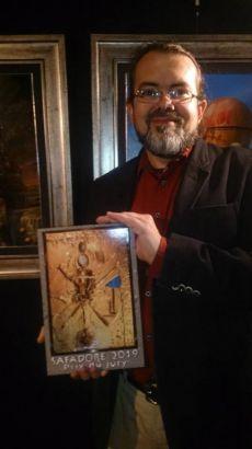 Legniczanin Jarosław Jaśnikowski wygrał prestiżowy festiwal sztuki